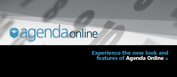 Experience the new Agenda Online